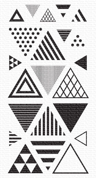 My Favorite Things - Trendy Triangles Clear Stamps