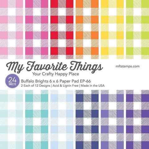 My Favorite Things - Buffalo Brights Paper Pad