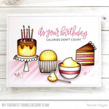 My Favorite Things - Birthdays Take the Cake Clear Stamps