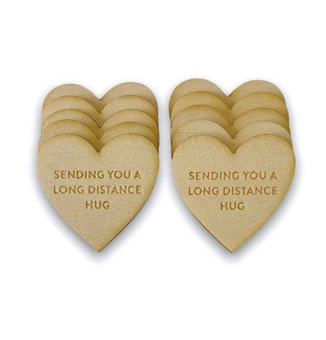 My Favorite Things - Long Distance Hugs Friendship Tokens
