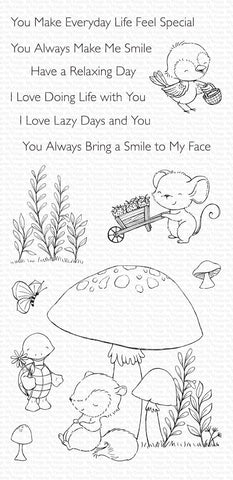 My Favorite Things - Always Bring a Smile Clear Stamps