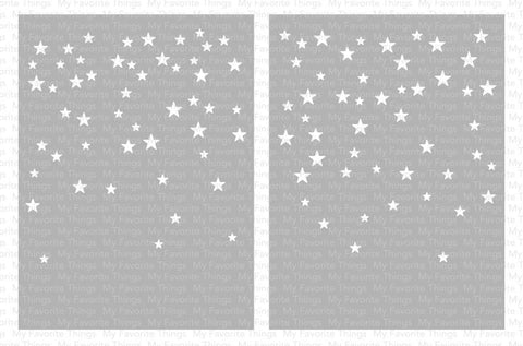 My Favorite Things - Card-Sized Star Confetti Stencil Set