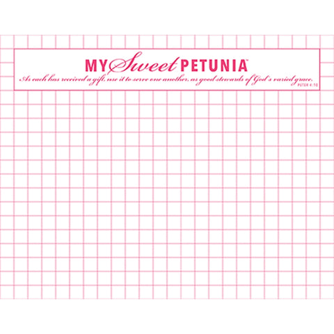My Sweet Petunia - Mini Grid Paper Pad