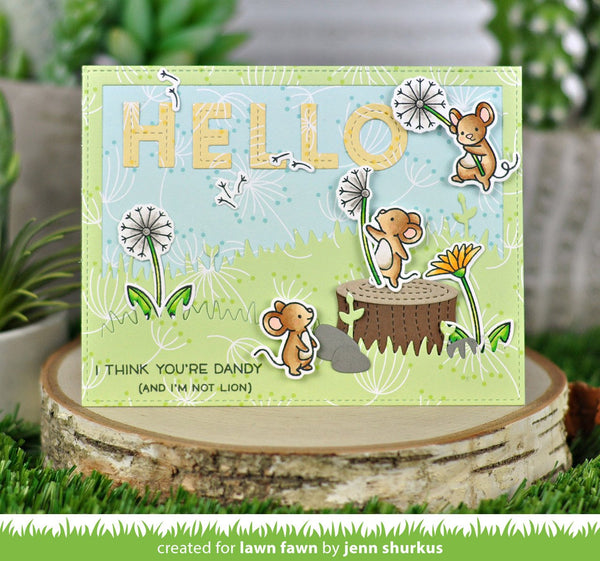 Lawn Fawn - Dandy Day Petite Paper Pack