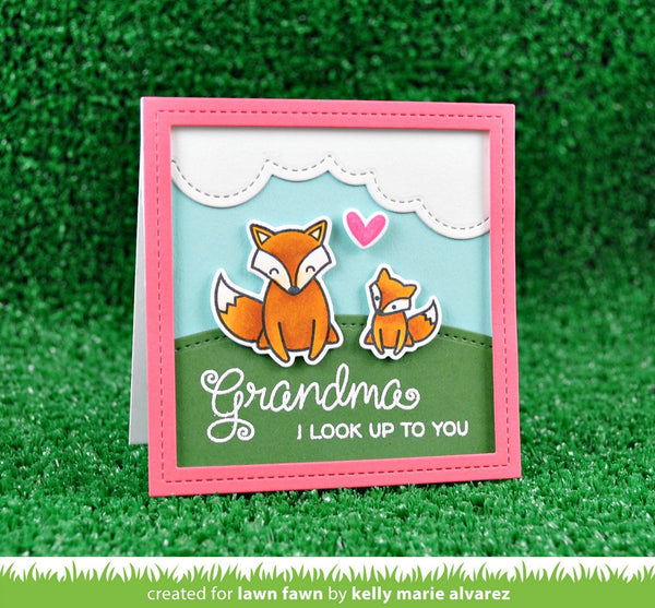 Lawn Fawn - Stitched Square Frames