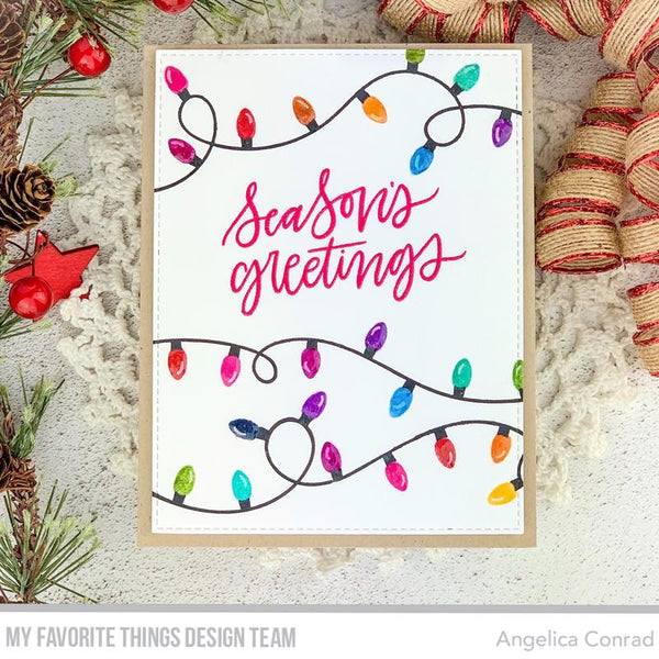 My Favorite Things - Party Lights Clear Stamps