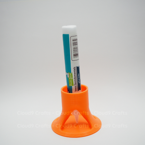 MakeItByMarko - Glue Tube Holder - Orange