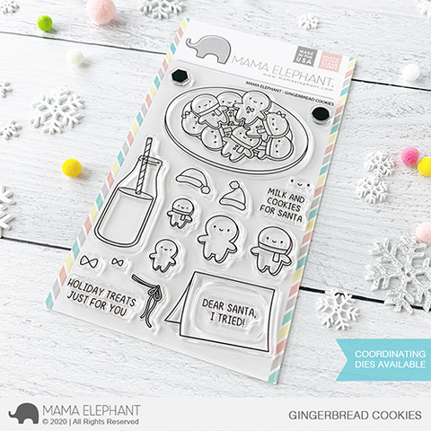 Mama Elephant - Gingerbread Cookies