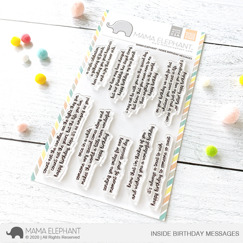 Mama Elephant - INSIDE BIRTHDAY MESSAGES