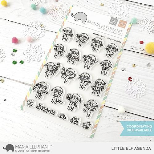 Mama Elephant - Little Elf Agenda