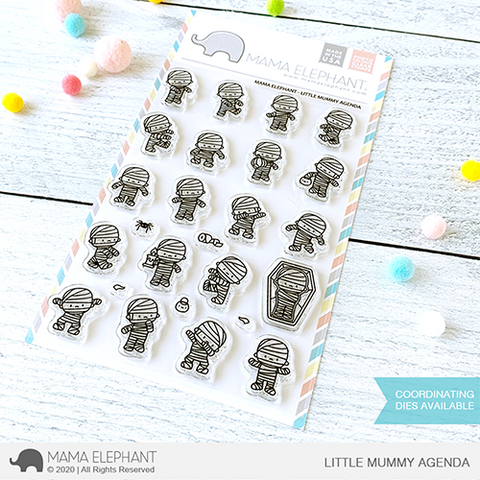 Mama Elephant - LITTLE MUMMY AGENDA