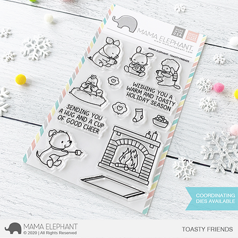 Mama Elephant - Toasty Friends