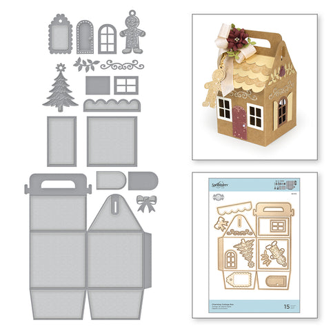 Spellbinders - Charming Cottage Box Dies