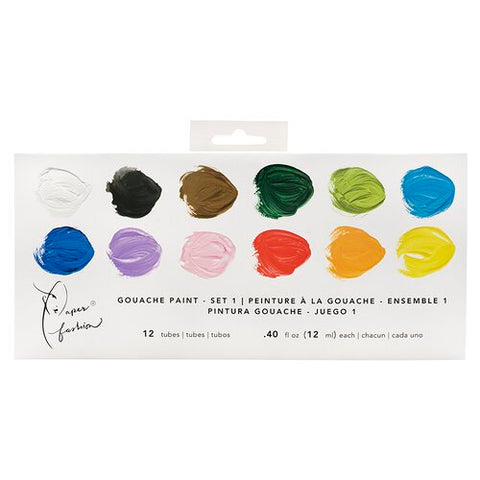 American Crafts - Gouache paint set 1