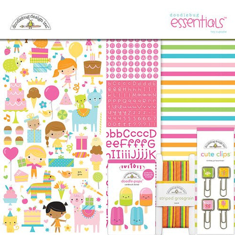 Doodlebug Design - Hey Cupcake Essentials Kit