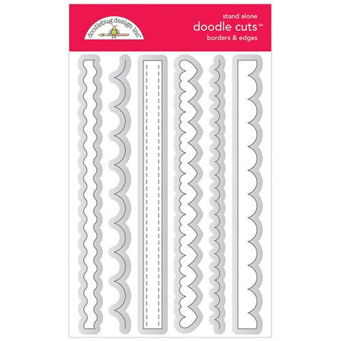 Doodlebug Design - Borders & Edges Doodle Cuts