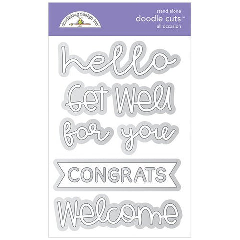 Doodlebug Design - All Occasion Doodle Cuts