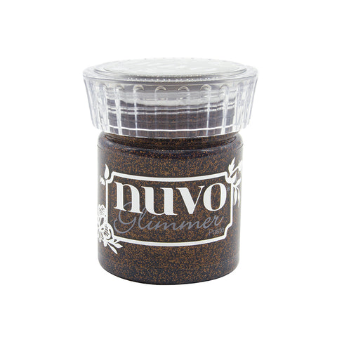 Tonic Studio's - Nuvo Glimmer Paste Rich Cocoa
