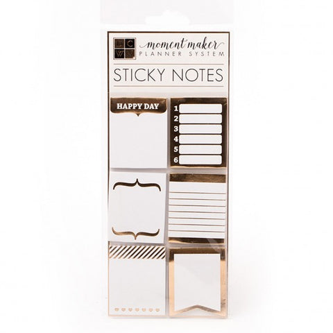 American Crafts DCWV accessories planner sticky notes