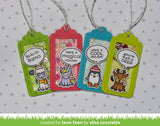 Lawn Fawn - say what? christmas critters