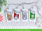 Lawn Fawn - say what? gift tags