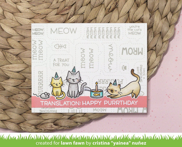 Lawn Fawn - Critter Chatter: Pets