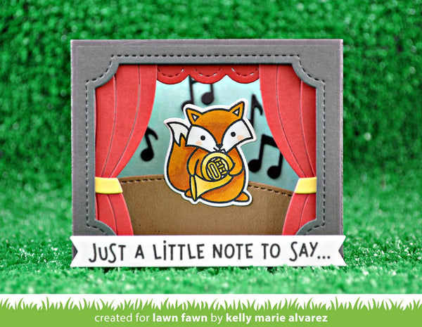 Lawn Fawn - critter concert