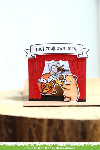 Lawn Fawn - shadow box card theater add-on