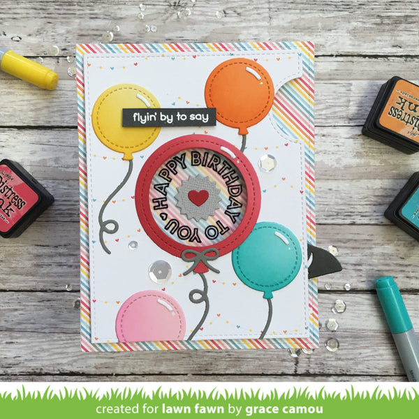 Lawn Fawn - Reveal Wheel Circle Sentiments