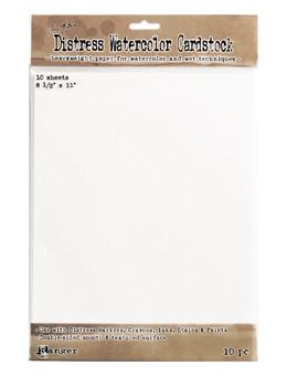 "Tim Holtz Distress® Watercolor Cardstock 8.5"" x 11""  10st"