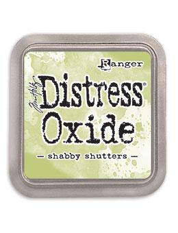 NIEUW! Tim Holtz Distress® Oxide® Ink Pad Shabby Shutters