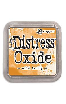 Tim Holtz Distress® Oxide® Ink Pad Wild Honey