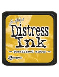 Tim Holtz - Mini Distress® Ink Pad Fossilized Amber