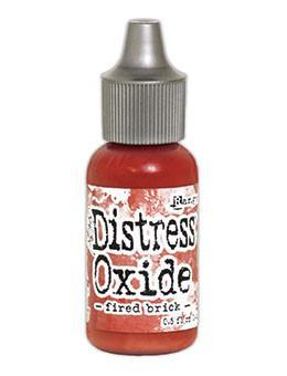 Tim Holtz Distress® Oxide® Re-Inker Fired Brick, 0.5oz Re-Inker Tim Holtz