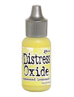 Tim Holtz Distress® Oxide® Re-Inker Squeezed Lemonade, 0.5oz Re-Inker Tim Holtz