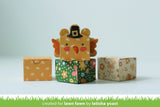 Lawn Fawn - Tiny Gift Box Peacock And Turkey Add-On