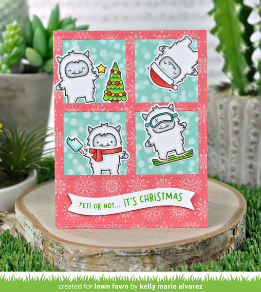 Lawn Fawn - Snow Day Remix Petite Paper Pack 6x6""