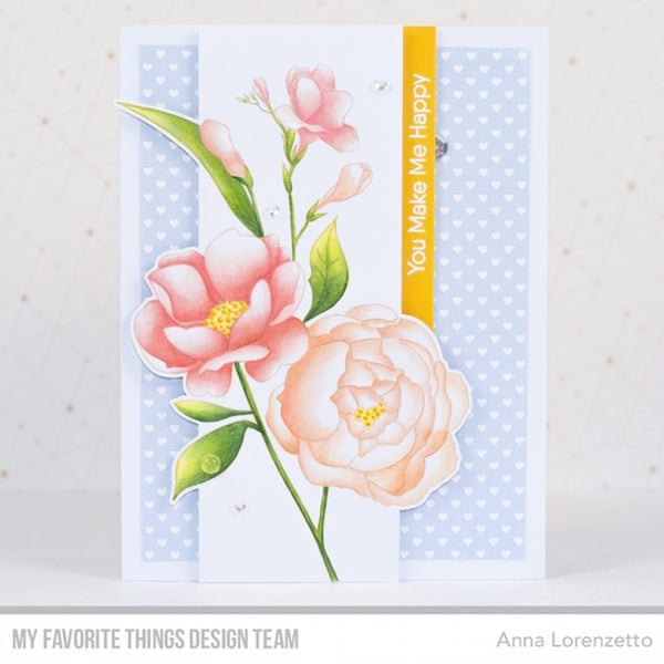 My Favorite Things - Background Stamp Fresh-Cut Flowers