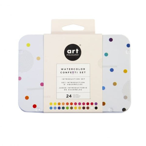 Art Philosophy - Watercolor Confetti Set