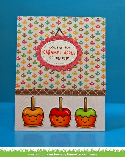 Lawn Fawn - knit picky fall petite paper pack 6x6""