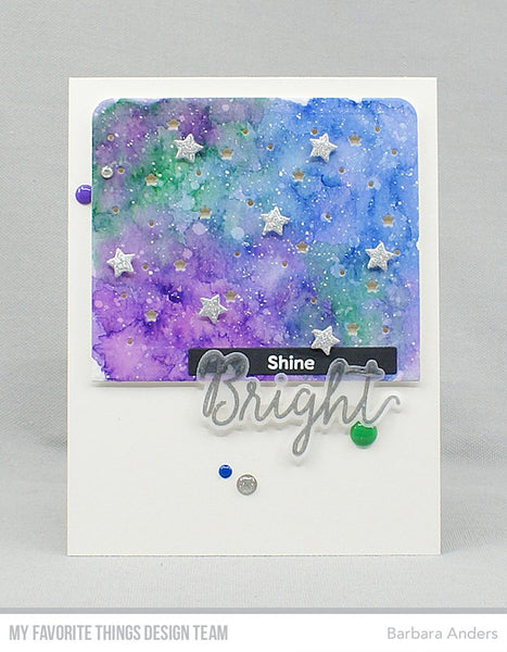 My Favorite Things - Night Sky Color Burst Trio