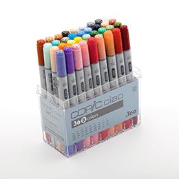 Copic - Ciao set 36 colors set B