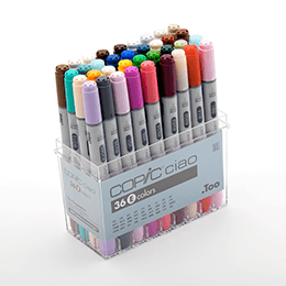 Copic - Ciao set 36 colors set E