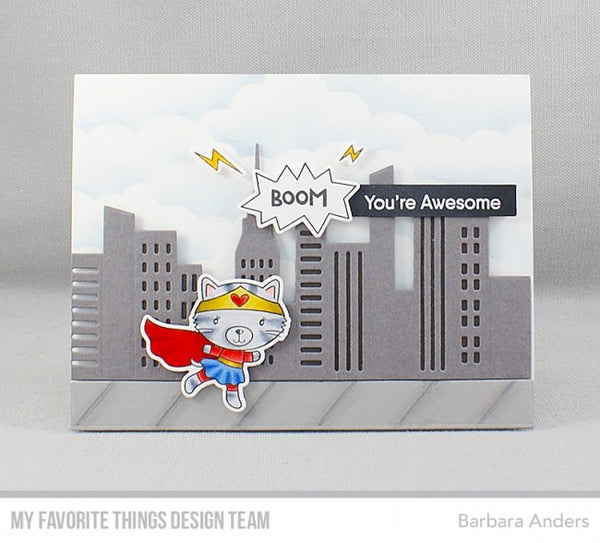 My Favorite Things - Clear Stamps Super Cat