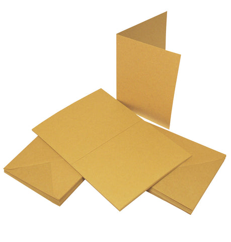 Craft UK Limited - Cards & Envelopes C6 Kraft