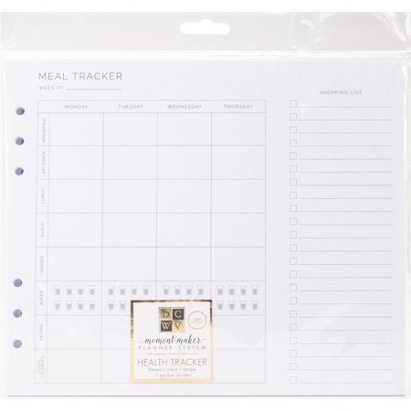 American Crafts DCWV inserts health tracker