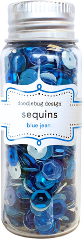 Doodlebug Design - Blue Jean Sequins