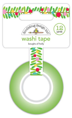 Doodlebug Design - Boughs of Holly Washi Tape
