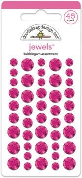 Doodlebug Design - Bubblegum Jewels (45pcs)
