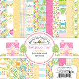 Doodlebug Design - Bunnyville 6x6 Inch Paper Pad